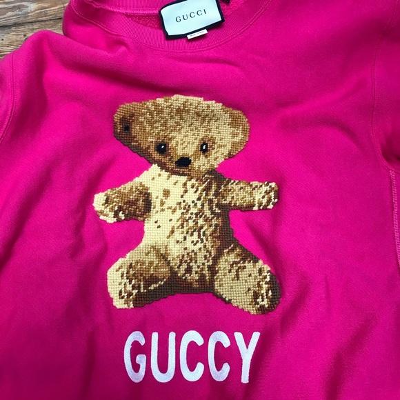 4d175367b5 Authentic NEVER WORN Gucci Teddy Bear Sweatshirt NWT